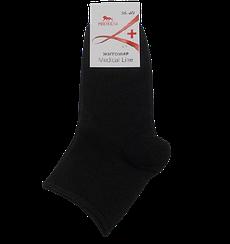 Шкарпетки медичні без гумки Medical Line 36-40 чорні