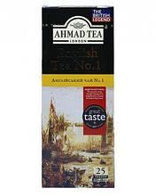 """Чай """"Ahmad"""" англійська №1 25 пакетів"""