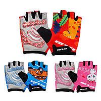 Детские перчатки для активного отдыха GUB S022 открытые велоперчатки