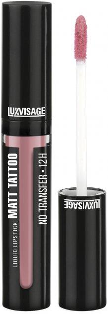 Жидкая губная помада Luxvisage Matt Tattoo No Transfer 12H Liquid Lipstick №101
