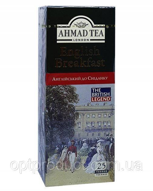 "Чай ""Ahmad"" английский завтрак 25 пакетов"