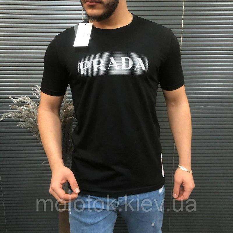 Мужская футболка Prada черная