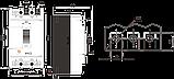 Автоматичний вимикач FMC1/3U     3-5In  3P  In=50А , фото 2