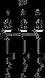 Автоматичний вимикач FMC1/3U     3-5In  3P  In=50А , фото 3