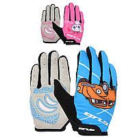 Детские перчатки для активного отдыха GUB S022L закрытые велоперчатки
