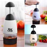 Ручной измельчитель продуктов Slap Chop Серый с черным, фото 3