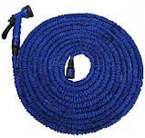 Садовый шланг для полива Xhose 22.5 Метра 75FT с распылителем X-Hose 22.5м Зеленый, фото 5