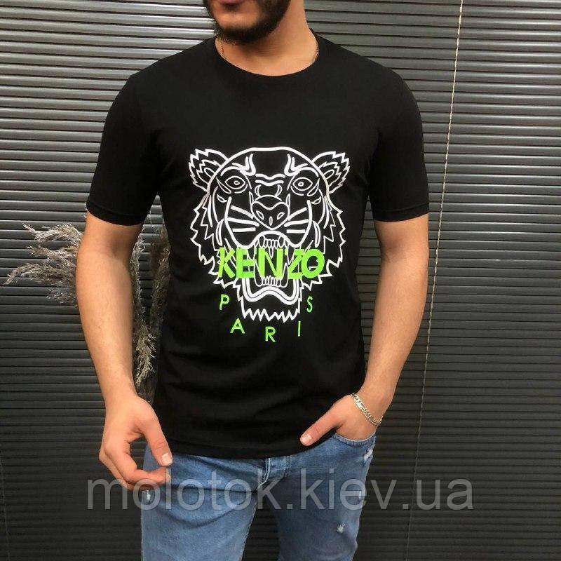 Чоловіча футболка чорна Kenzo