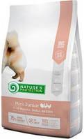 Nature's Protection Mini Junior Корм для щенков мелких пород собак 7,5 кг