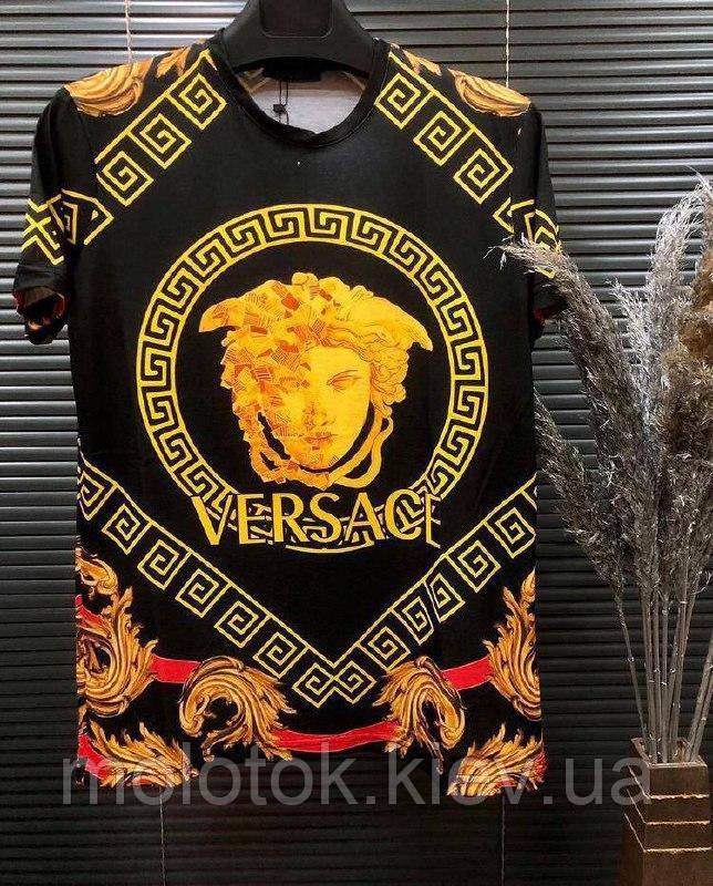 Мужская футболка Versace Реплика Оригинала