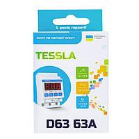 Реле напряжения Tessla D63 63A