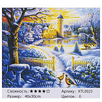Картина по номерам KTL 0025 40х30см