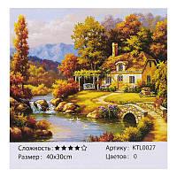 Картина по номерам KTL 0027 40х30см