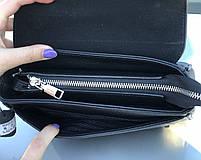 Сумка женская кожаная стильная черная FM3005A, фото 8