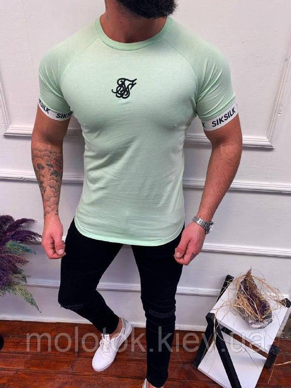 Мужская футболка в стиле Sik Silk
