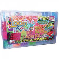 Набор резинок для плетения 2000 шт + 500 Loom Twister