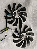 Комплект Вентиляторов Zotac кулер для видеокарты AMP GTX 1070Ti 1080 GFM10012H12SPA GAA8S2U 2 шт