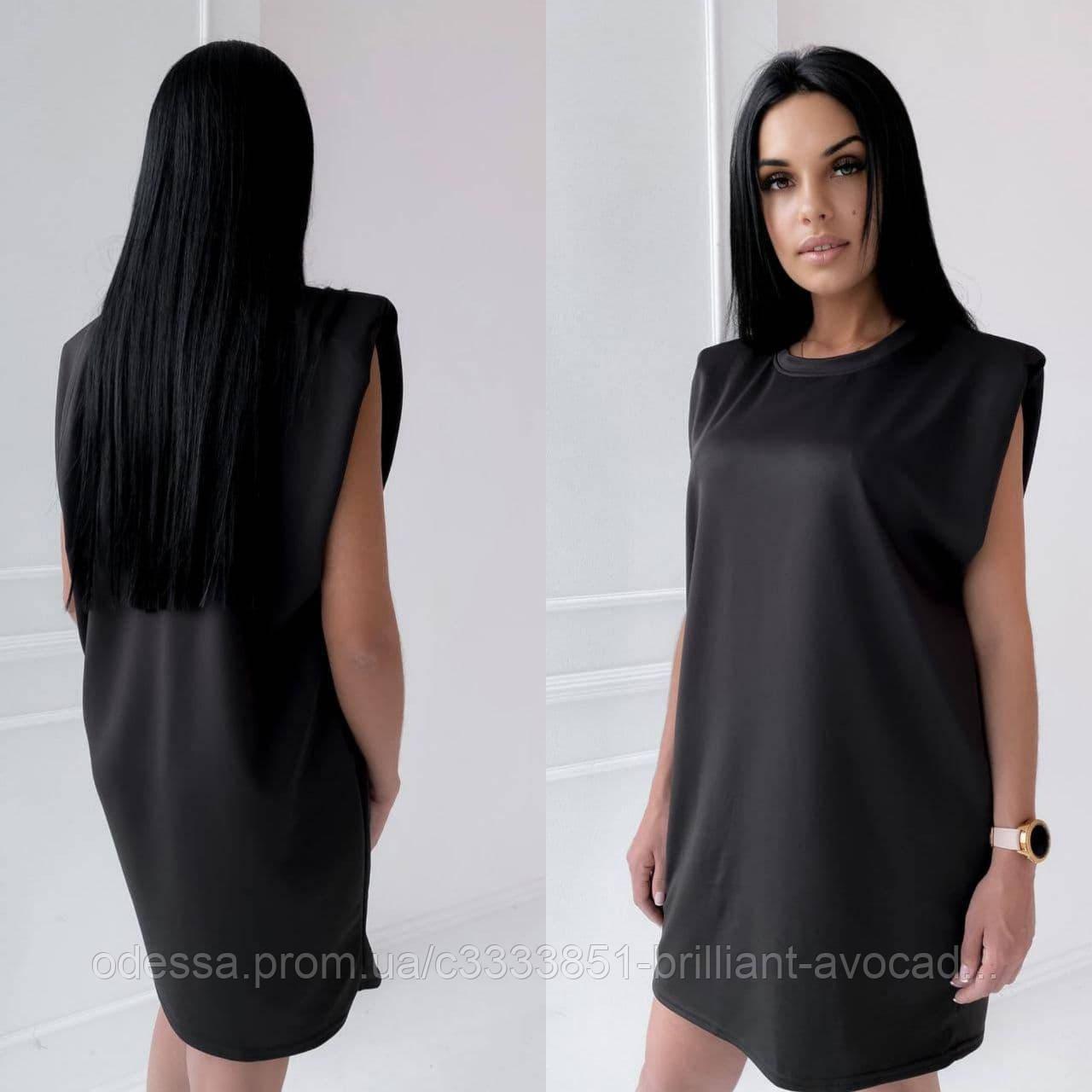 Женская модная удлиненная футболка-платье