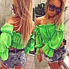 Женский летний яркий нарядный топ, фото 7