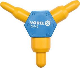 Калибратор для труб PEX-AL-PEX VOREL, Ø= 10x16/12x20/14x26 мм