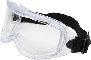 Очки защитные YATO прозрачные с регулируемым эластичным пояском