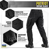 Брюки м-тас Patriot vintage black, фото 2