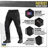 Брюки м-тас Patriot vintage black, фото 4