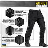 Брюки м-тас Patriot vintage black, фото 6