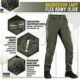 Штани жіночі м-тас Aggressor lady flex army olive, фото 5