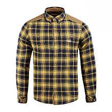 Рубашка м-тас Redneck shirt navy blue/yellow