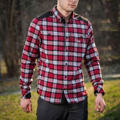 Рубашка м-тас  Redneck cotton shirt red