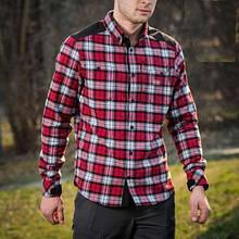 Сорочка м-тас Redneck cotton shirt red