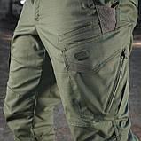 Брюки м-тас Aggressor Gen.II flex army olive, фото 4
