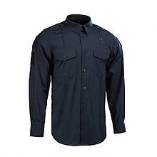 Рубашка м-тас Police lightweight flex рип-стоп dark navy blue