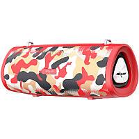 Bluetooth Колонка Zealot S39 Red Camouflage