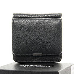 Мужской кожаный кошелек Dr.Bond Зажим для банкнот, черного цвета / BE168-58