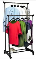 Двойная стойка-вешалка для одежды - Double Pole Clothes SML (65 cм) / ART-0175 (12шт)