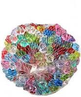 Камінь декоративний / Кристали з пластику (камешки, стекляшки, стекляриус) 155грам