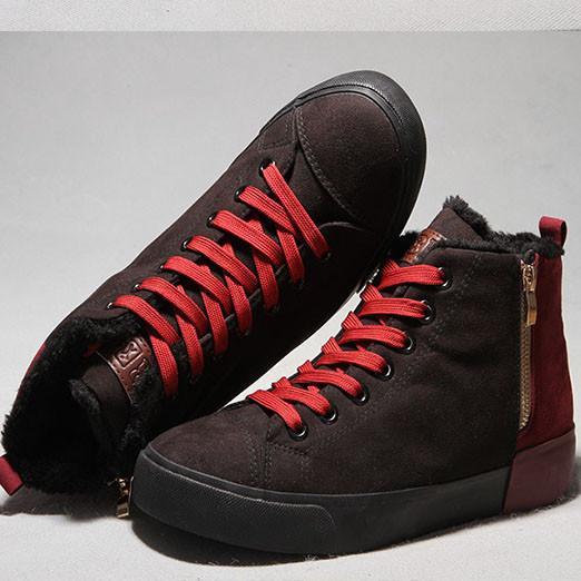 129702d1 Модные мужские зимние ботинки-кеды - купить Украина - modaland.com ...