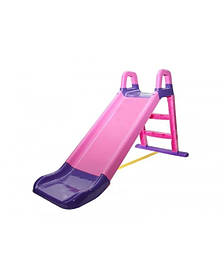 """Детская пластиковая сиреневаягорка для улицыТМ """"Doloni"""", размер 1,4x0,6х0,6см"""