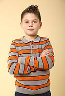 Джемпер для хлопчика, бавовняний, фото 1