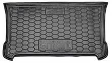Коврик в багажник для Smart 453 (2014>) Fortwo полиуретан AG 111579 Avto-Gumm