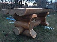 "Деревянный стол ""Богатырь"", фото 1"