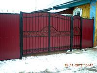 Ворота сдвижные кованые