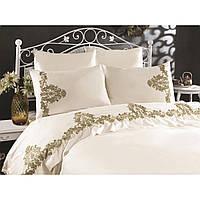 Комплект постельного белья 200х220 см Сатин c кружевом Nova Arya AR-TR1006888