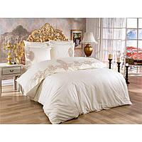 Комплект постельного белья 200х220 см Сатин c кружевом Venice Arya AR-TR1006889