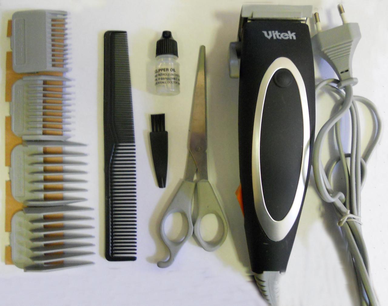 Машинка для стрижки волос Vitek VT-1365 (набор для стрижки)