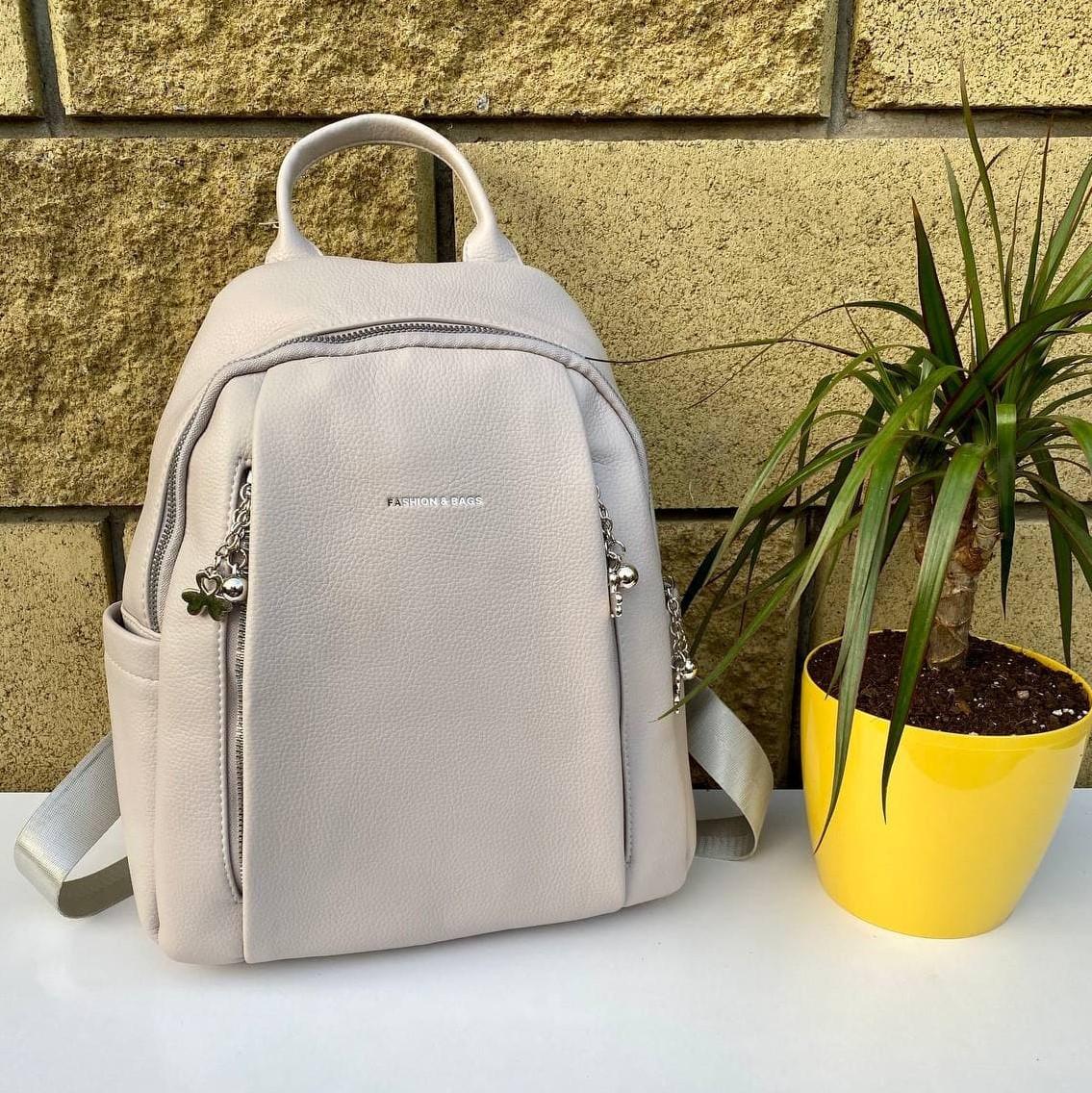 Рюкзак Sweet світло-сірий СВИТ4