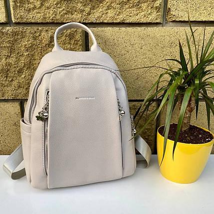 Рюкзак Sweet світло-сірий СВИТ4, фото 2