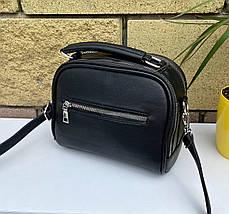 Сумка Cherry на каждый день черная ЧЕР1, фото 3